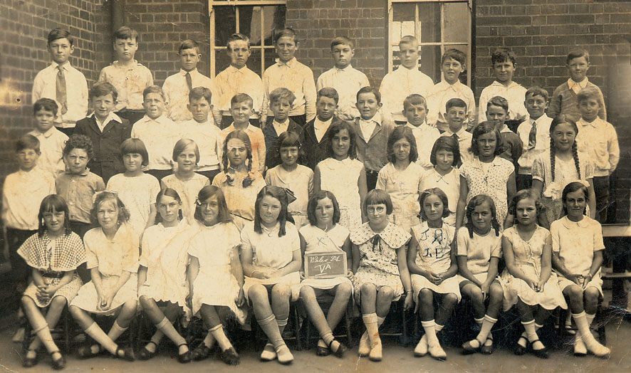 Wales St Primary - Class Photo