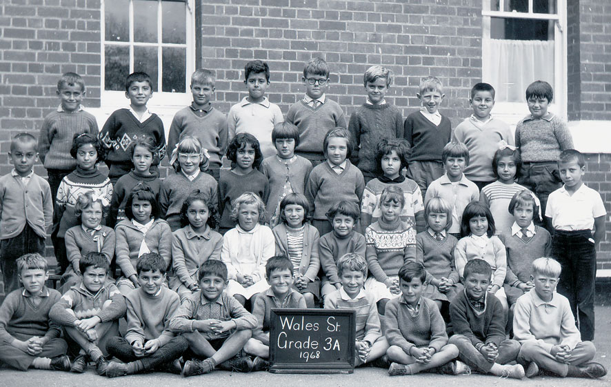 Wales St Primary 1968 - Grade 3A