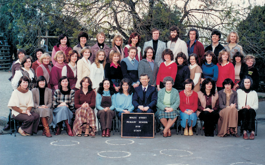 Wales St Primary 1979 - Staff photo