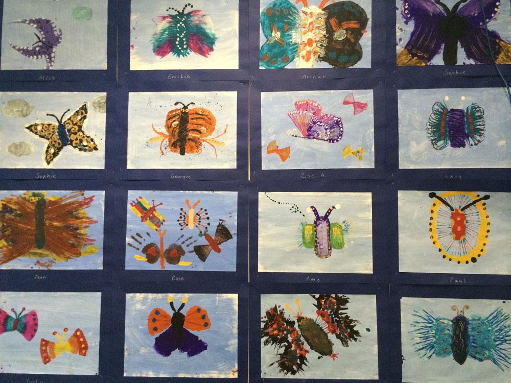 art show pastels