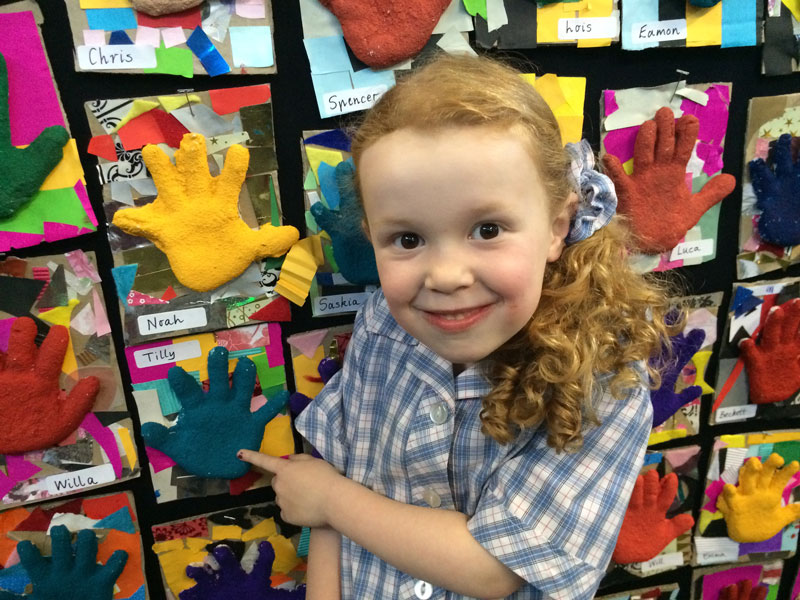wales st primary art show