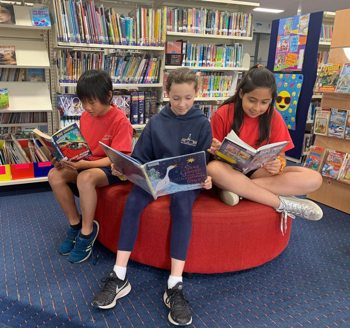 book club at wales st primary