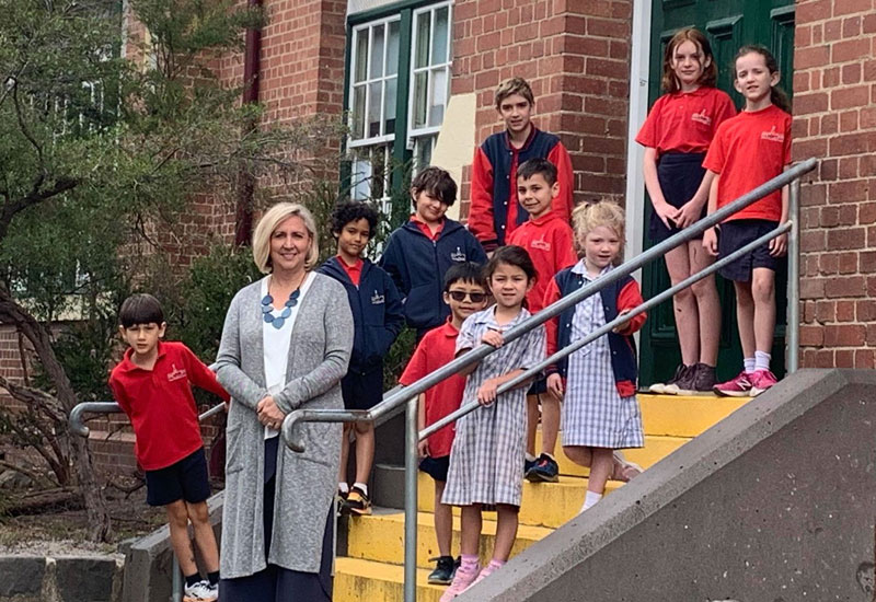 principal at wales st primary thornbury