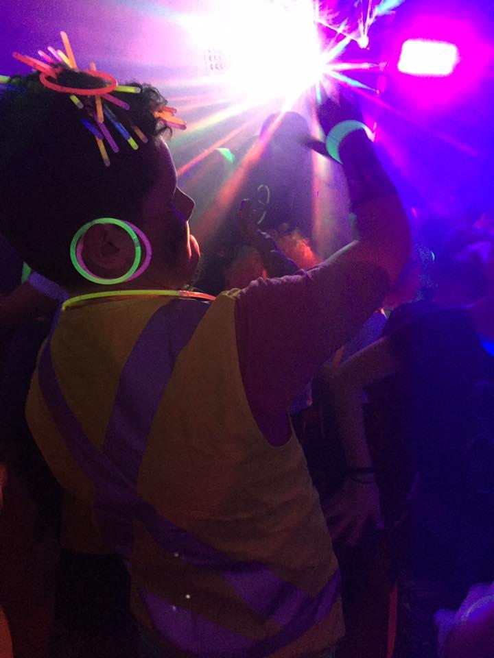 school disco dance