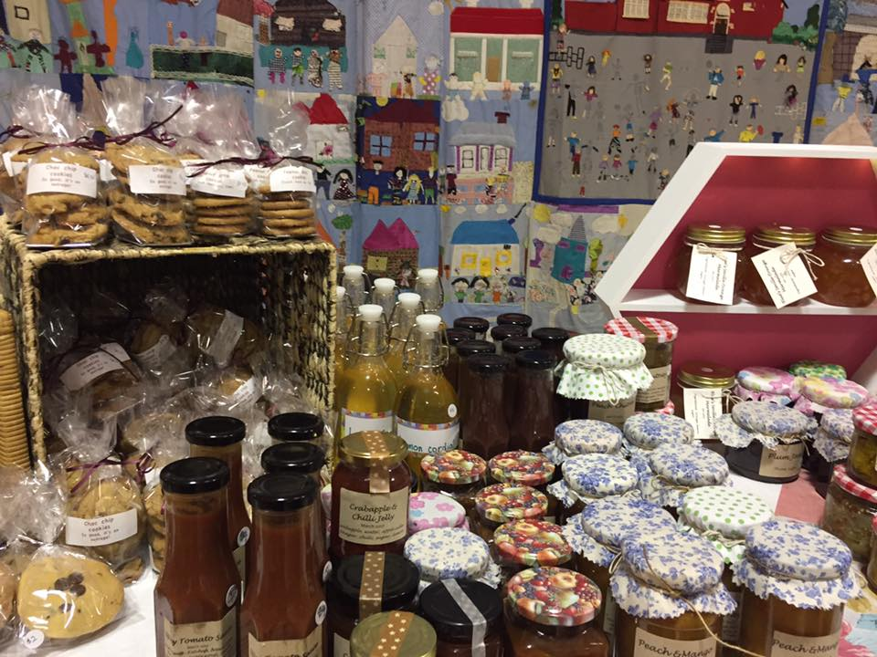 school fete cakes and preserves