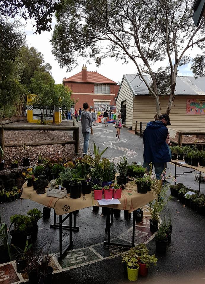school fete plant stall
